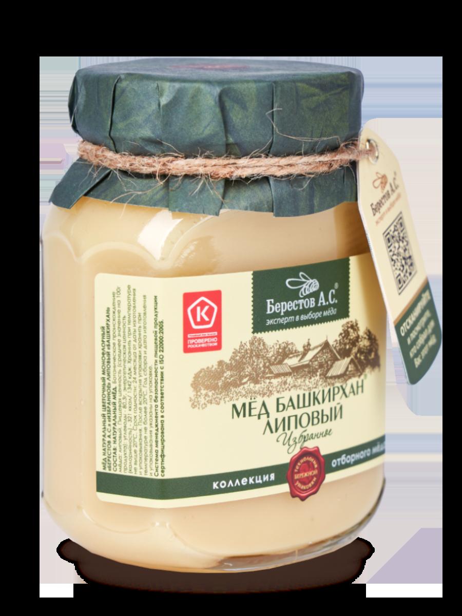 Мед Избранное Липа Амурская/ стекло 500 г Мёд