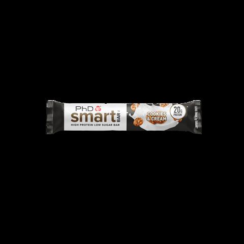 PhD Smart Bar, вкус Печенье и сливки, 64 гр.