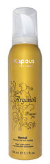 KAPOUS Мусс аэрозольный нормальной фиксации с маслом арганы