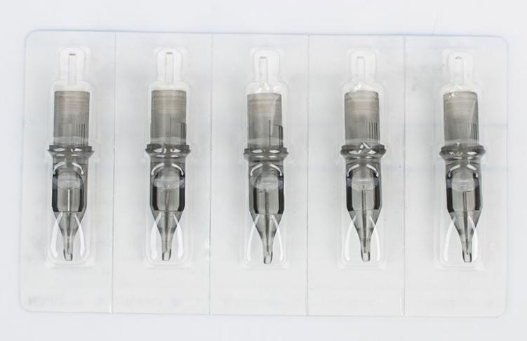 Картридж для тату 5RS 0.35 EZ Revolution 1205RS  Medium Taper средняя заточка (цена за 5шт и 20 шт)