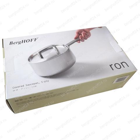 Ковш с крышкой 18см 2л (5-слойный материал) Ron