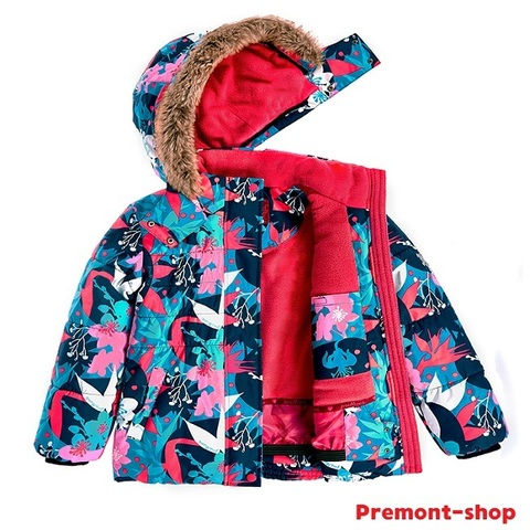 Зимний комплект Premont Сад под снегом WP91527 BLUE