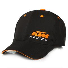 Стильная бейсболка с вышивкой КТМ (Кепка KTM) черная