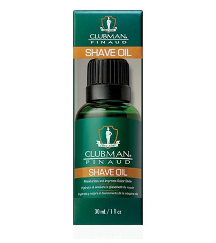 Натуральное масло для бритья Clubman Shave Oil
