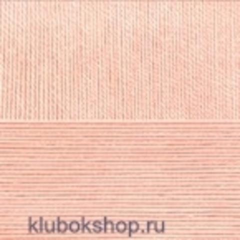 Пехорский текстиль Цветное кружево Персик 18
