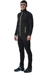 Элитный утеплённый лыжный костюм Nordski Elite Black мужской 2020