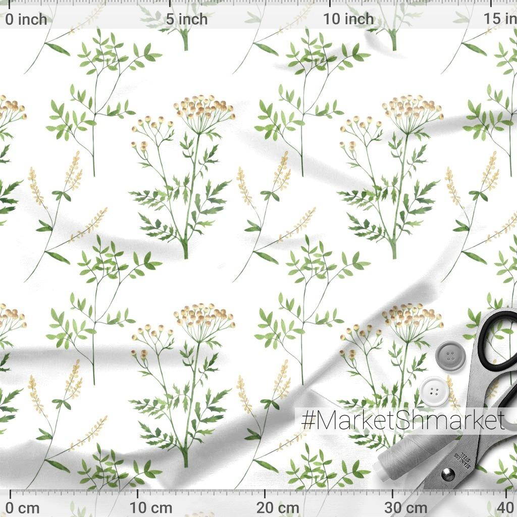 Полевые цветы и травы. Пижма, донник