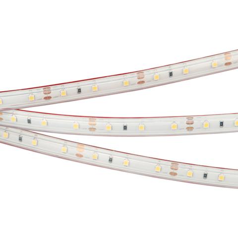 Светодиодная лента RTW 2-5000P 12V Warm2700 (3528, 300 LED, LUX) (ARL, 4.8 Вт/м, IP66)