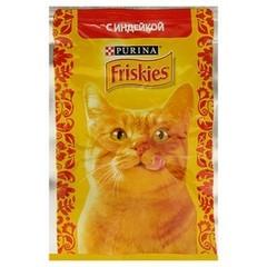 Корм для кошек FRISKIES Индейка в подливе 85г