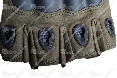 Тактические перчатки Oakley без пальцев TG-1 (Олива)