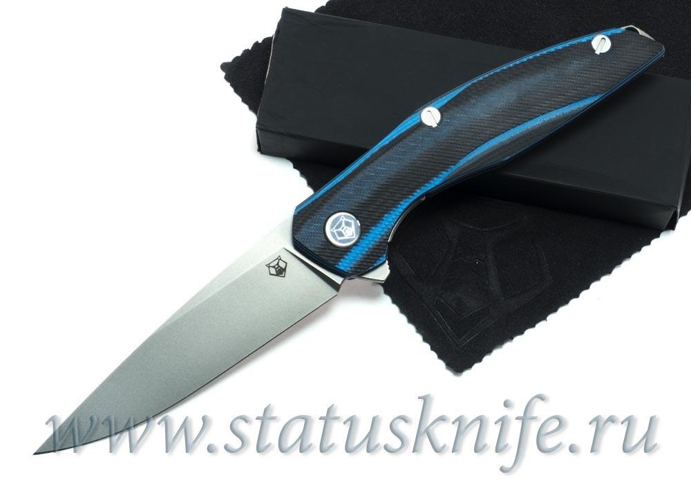 Нож Широгоров 111 Vanax37 G10 black blue 3D MRBS