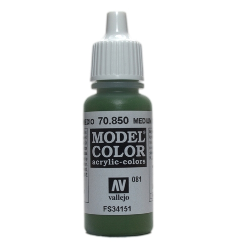 Model Color Medium Olive 17 ml.