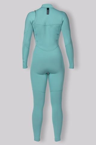 7 Seas 3/2 Chest Zip Full Suit Aqua mairine