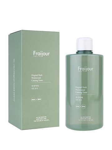 Тонер для лица [Fraijour]  Original Herb Wormwood Calming Toner, 500 ml