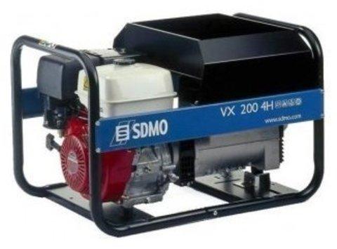 Кожух для бензиновой электростанции SDMO VX220/7,5H