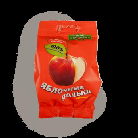 Яблочные дольки сушёные 'Сибирские просторы', 30г