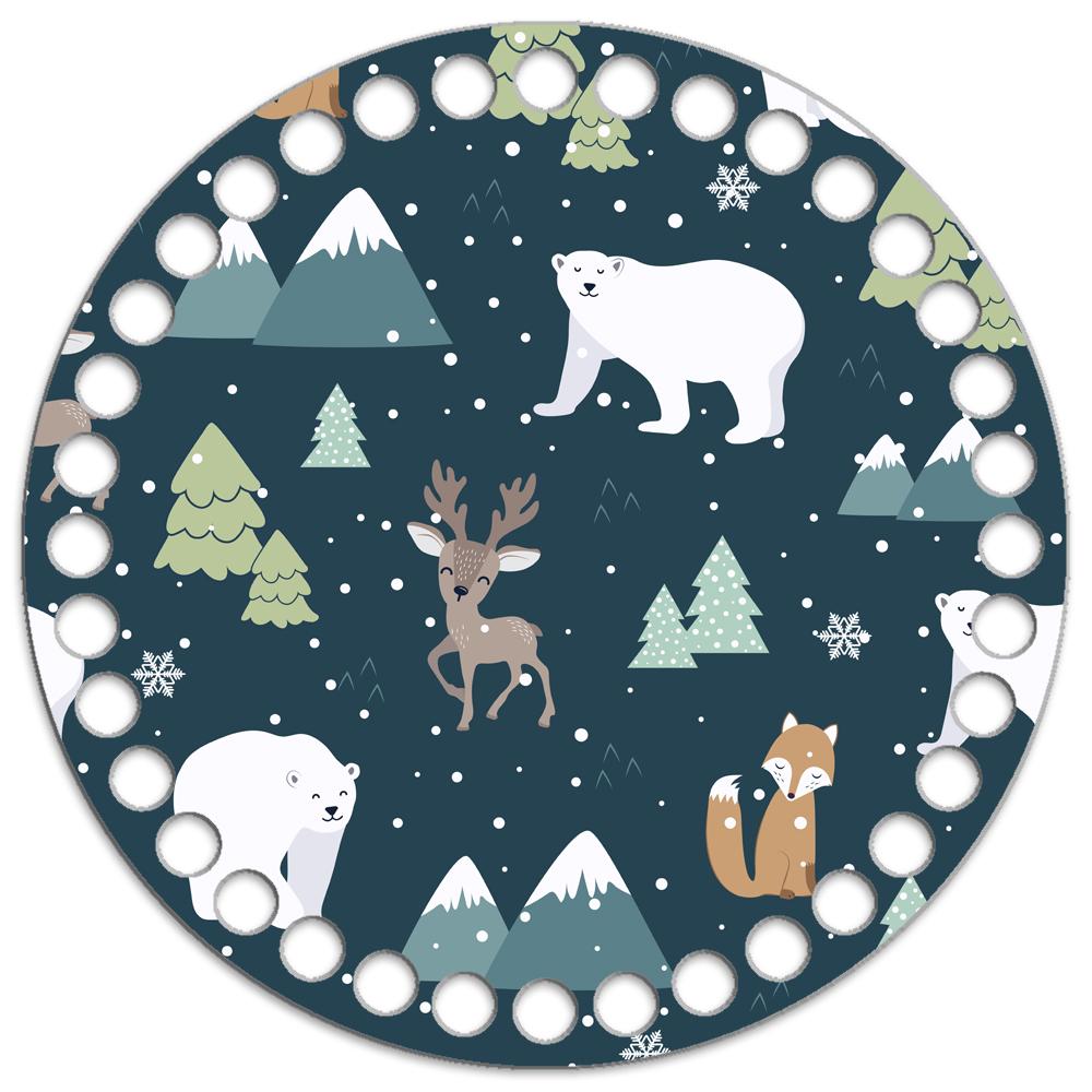 Заготовки с рисунками Круглое ламинированное деревянное дно Новогоднее N20 15см Новый_год_20-1000x1000.jpg
