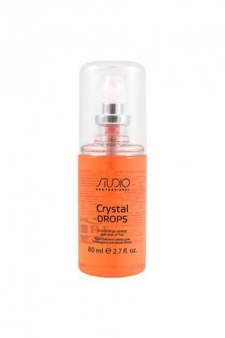 Kapous, Кристальные капли для секущихся кончиков волос «Crystal drops», 80 мл