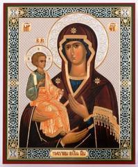Икона Троеручица Б. М. 11х13 см