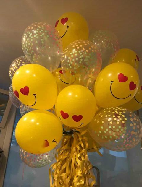 шары на день Святого Валентина 400 тнг