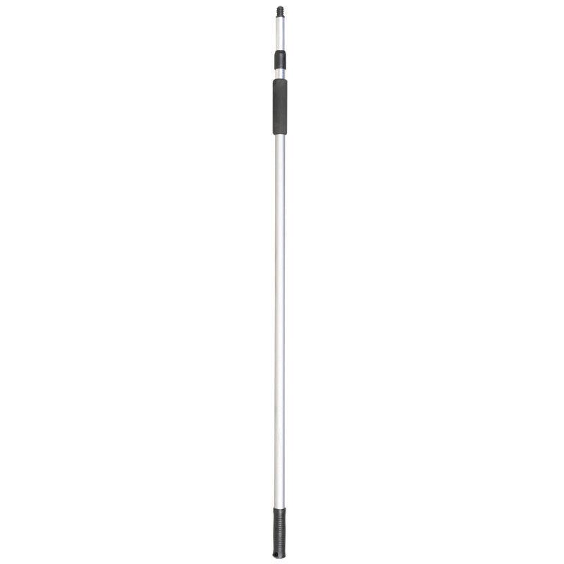 Aluminum telescopic handle for hook/brush