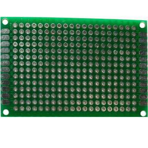 PCB макетная плата 5x7 см (односторонняя)