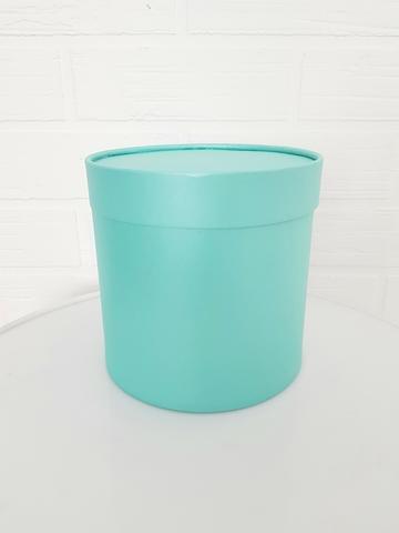 Коробка для цветов (цвет аквамарин)