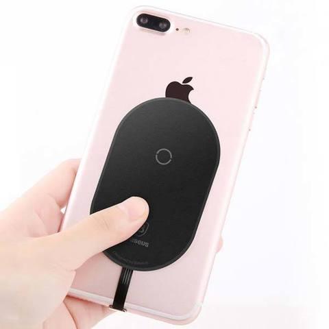 Приемник беспроводной зарядки для iPhone 5 / 6 / 7 - Baseus Qi