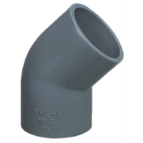 Угол 45 ПВХ 1,0 МПа диаметр 75мм PoolKing