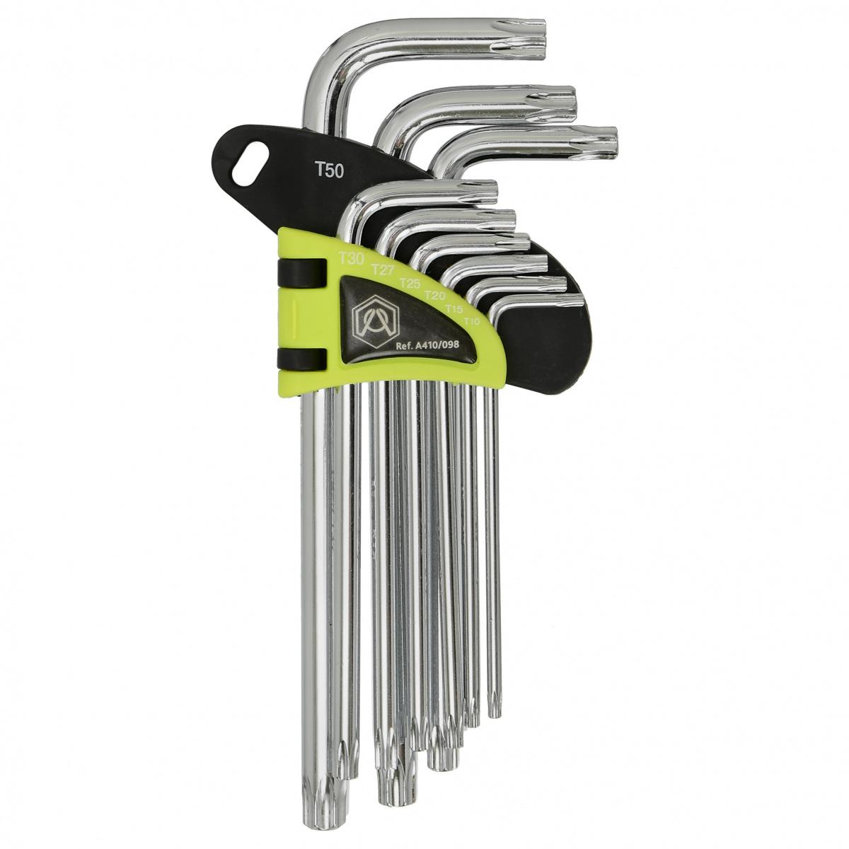 Набор ключей Torx A410/098, длинные
