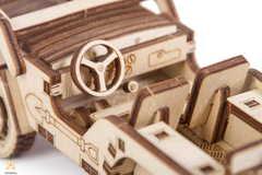 Джип 4х4 от Wood Trick - Деревянный конструктор, сборная модель, 3D пазл
