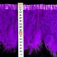 Купить оптом перья Марабу на ленте Purple Velvet фиолетовые