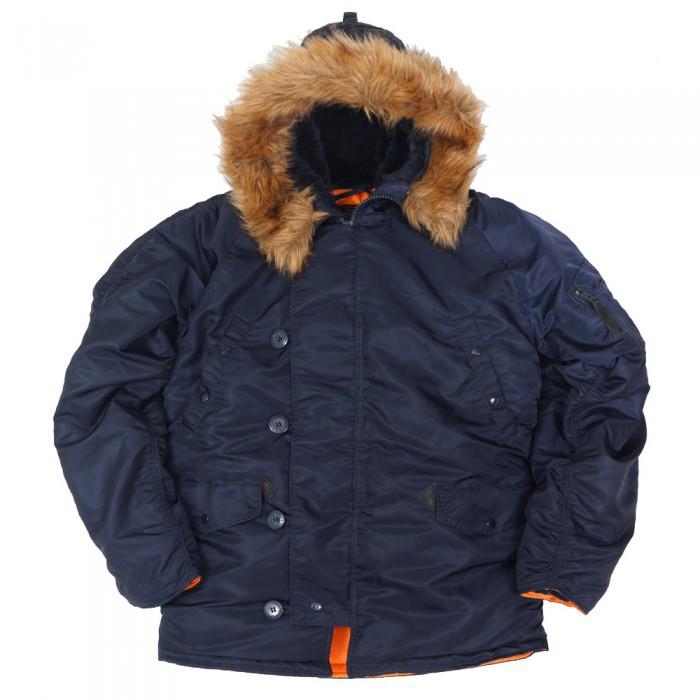 Куртка Аляска  Nord Storm N-3B Regular (синяя - r.blue/orange)
