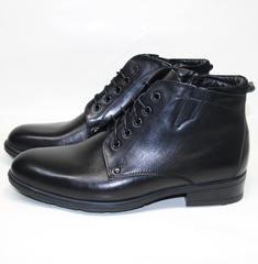 Ботинки мужские зимние кожаные Ikoc 2678-1 S
