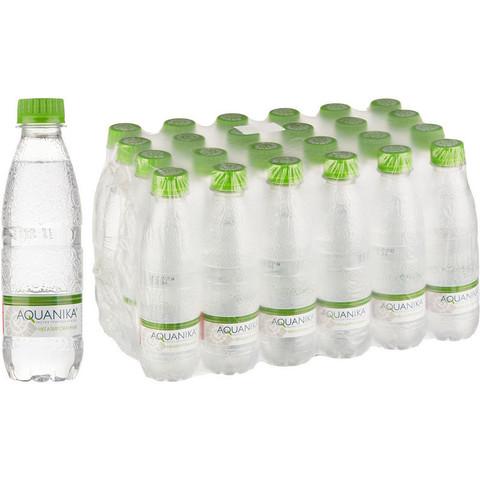 Вода питьевая Акваника Премиум негазированная 0.25 л (24 штуки в упаковке)