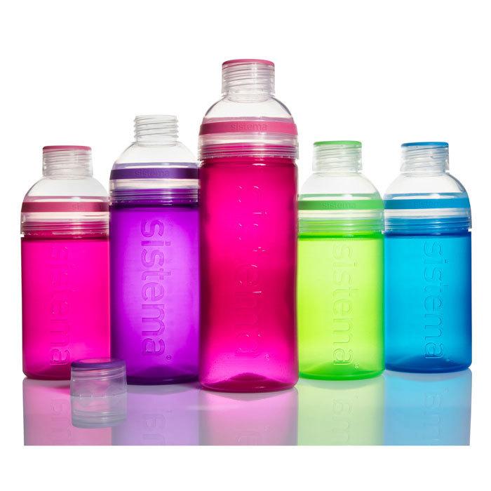 """Бутылка для воды Sistema """"Hydrate"""" 580  мл, цвет Фиолетовый"""