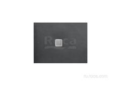 TERRAN Душевой поддон 1000X700 с сифоном и решеткой графит Roca AP013E82BC01200 фото