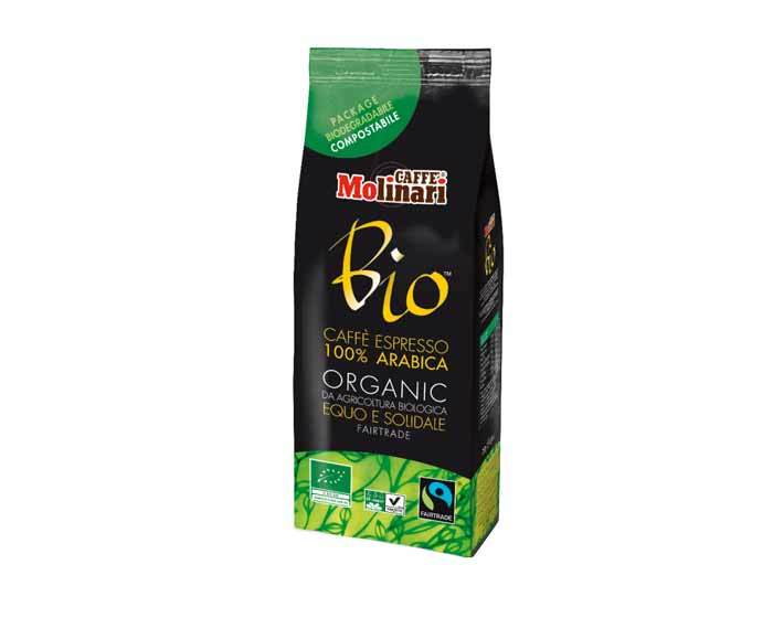 Кофе молотый Molinari BIO ORGANIC, 250 г