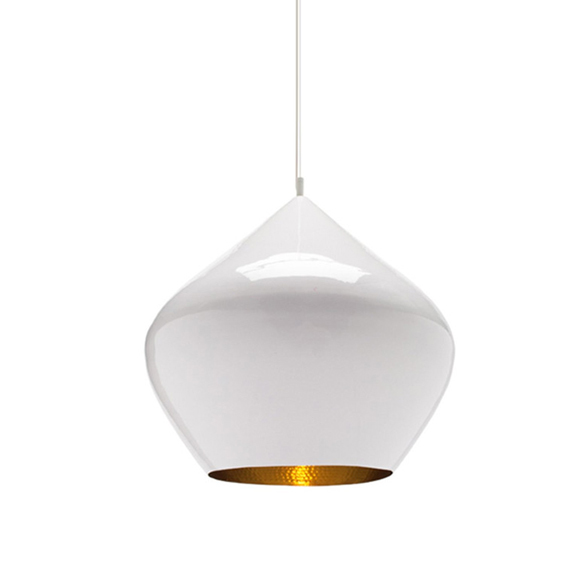 Подвесной светильник копия Beat Light Stout by Tom Dixon D35 (белый)