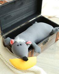 Подушка-игрушка антистресс Gekoko «Крыса Анфиса» 4