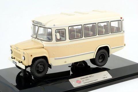 KAVZ-685 1973 bus route Kolhoz New Life DIP Models 1:43
