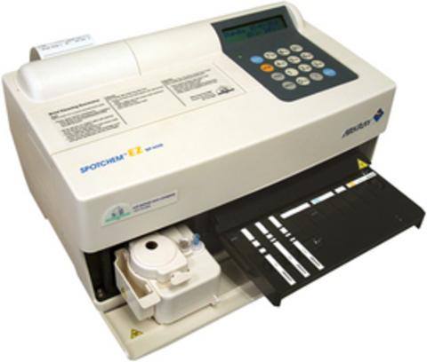 Анализатор биохимический Spotchem (Спотхем) на основе принципа «сухой химии», в исполнении: модель EZ (SP-4430),  Япония на официальном сайте Трио-Медикал