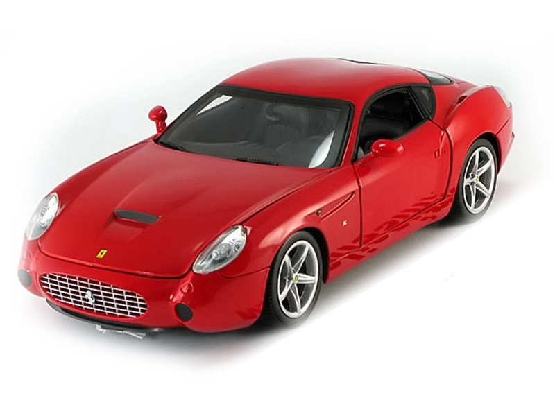 "Коллекционная модель Ferrari 575 GTZ Zagato ""Foundation Series"" With Chrome Rims 2006 Red"