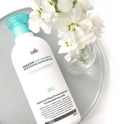 Кератиновый бессульфатный шампунь Lador Keratin LPP Shampoo