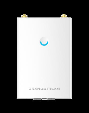 Grandstream GWN7605LR - WiFi точка доступа. Уличная установка, IP66, 2-ух диапазонная, технология 2:2x2 MU-MIMO, 100+ пользователей, сменные антенны