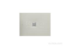 TERRAN Душевой поддон  1000X700 с сифоном и решеткой цемент Roca AP013E82BC01300 фото