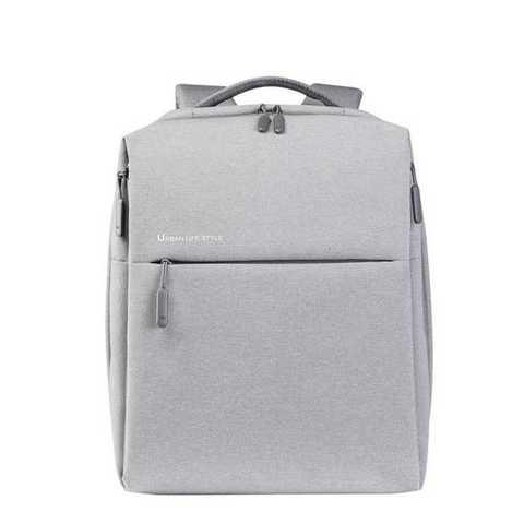 Рюкзак Xiaomi Mi City, светло-серый, 39х30х14 см (X15935)