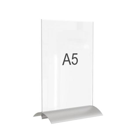 Подставка настольная Attache A5 пружинный механизм смены панели, пэт