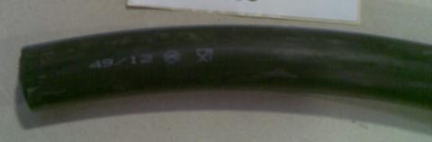 25515435 Шланг резиновый диа.28/16 (25 м)