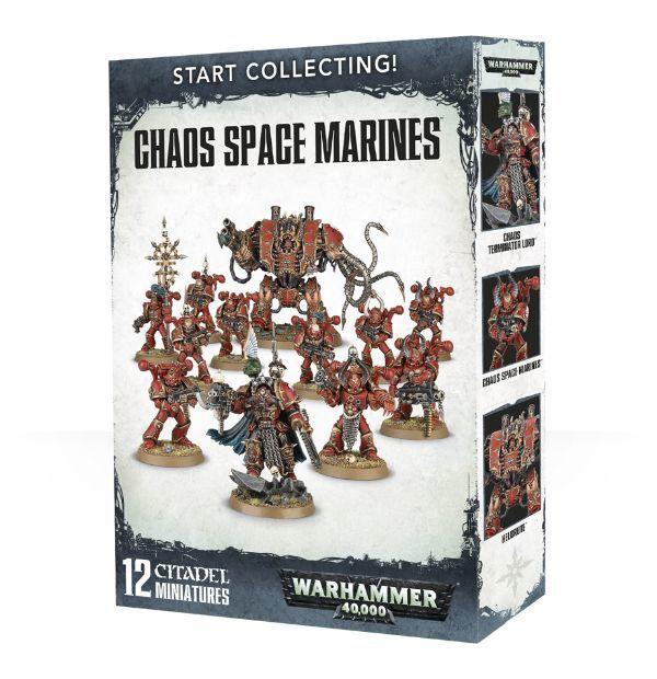 Start Collecting! Chaos Space Marines. Коробка